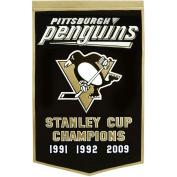 Winning Streak WSS-78095 Pittsburgh Penguins NHL Dynasty Banner 24x36