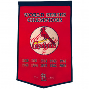 St. Louis Cardinals Official MLB 60cm x 90cm Dynasty Wool Banner Flag by Winning Streak