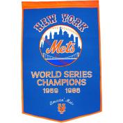 Winning Streak WSS-76120 New York Mets MLB Dynasty Banner 24x36