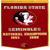 Florida State Seminoles Official NCAA 60cm x 90cm Dynasty Wool Banner Flag by Winning Streak