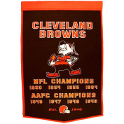 Winning Streak WSS-77060 Cleveland Browns NFL Dynasty Banner 24x36