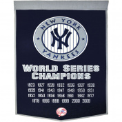 Winning Streak WSS-76060 New York Yankees MLB Dynasty Banner 24x36