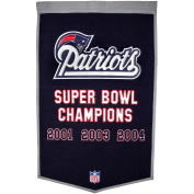 Winning Streak Sports 77050 New England Patriots Banner