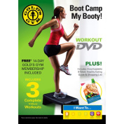 Gold's Gym Boot Camp My Booty! DVD