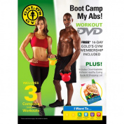 Gold's Gym Boot Camp My Abs! DVD