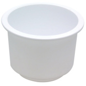 Attwood Recessed Drink Holders, White