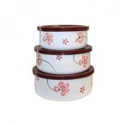 Corelle 6-pc. Enamelled Bowl Set - Pretty Pink