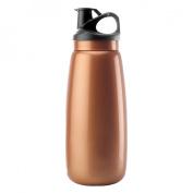 Timolino 7020.40 34-Ounce Active Hydration Bottle Grande - Citrus Orange