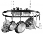 RANGE KLEEN CW6000R Oval Pot Rack - Black