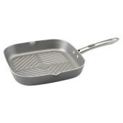 Farberware 20832 11-Inch Square Grill with Pour Spout Platinum