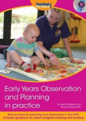 Early Years Observation and Planning in Practice