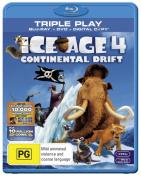 Ice Age 4 (Blu-ray/DVD/Digital Copy  [2 Discs] [Region B] [Blu-ray]