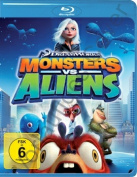 Monsters Vs Aliens (Blu-Ray   [2 Discs] [Region 4] [Blu-ray]