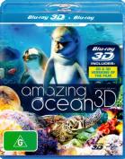 Amazing Ocean (3D Blu-ray) [Region 4] [Blu-ray]