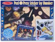 Melissa & Doug Kids Toy, Space Mission Peel & Press Sticker by Number
