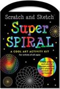 Super Spiral Scratch & Sketch Kit