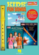 Kids Fun Songs Learn & Play Recorder Pack Recorder/3 Books Rec