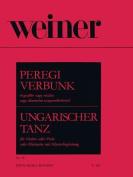 Peregi Verbunk Op. 40 for Violin, Viola or Clarinet and Piano