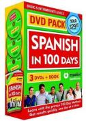 Spanish in 100 Days DVD Pk (Spanish in 100 Days DVD Pk)  [Spanish]