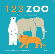123 Zoo (Cool Counting Books) [Board book]