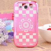 For for for for for for for for for for for Samsung Galaxy S3 S Iii I9300 Laser Carved Flower Hard Case Cover
