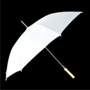 "CKB Products 60"" White Wedding Umbrellas"