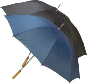 All-Weather 60 Inch Polyester Umbrella - Black