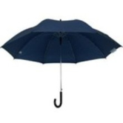 Homebasix TF-04 Rain Umbrella 27 Inch Deluxe Black
