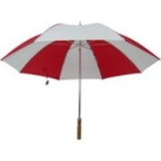 Homebasix TF-06 Golf Umbrella 29 Inch Red/White