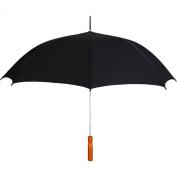 Rainkist The Sleek Auto Open Umbrella-Black