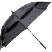 "Golf Gifts & Gallery 62"" Black Windbuster Umbrella"