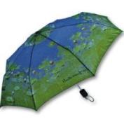 Salamander Monet Waterlilies Folding Umbrella