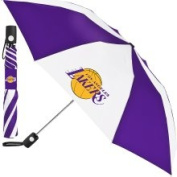 McArthur Los Angeles Lakers Automatic Folding Umbrella