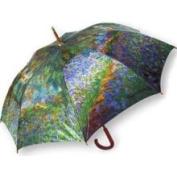 Salamander Monet Garden at Giverny Stick Umbrella