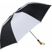 Haas-Jordan by Westcott 4302 150cm . Folding Golf Umbrella Black-White