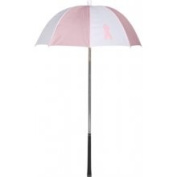 Haas-Jordan by Westcott 4418 Bag Brolly Pink-White with Ribbon