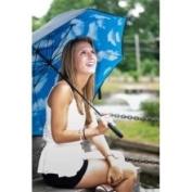 Elite Rain Lotus Frame Umbrella Pattern