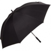 Haas-Jordan 1736130 The Breeze Fan Golf Umbrella Black