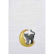 C&F 45.7cm x 68.6cm Kitchen Towel, Cat on Moon