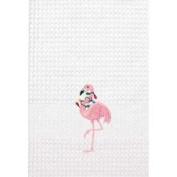 C&F 45.7cm x 68.6cm Kitchen Towel, Christmas Lights Holiday Pink Flamingo