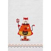 C&F 45.7cm x 68.6cm Kitchen Towel, Halloween Devil Boo