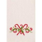 C&F 45.7cm x 68.6cm Kitchen Towel, Candy Canes