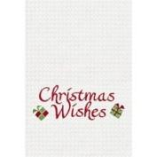 C&F 45.7cm x 68.6cm Kitchen Towel, Christmas Wishes