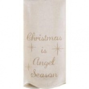Noel Nostalgia Tea Towel Angel Season (st/2) 48.3cm x 71.1cm