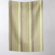 Tag Seasonal Olivia Waffle Weave Stripe Dishtowel Colour