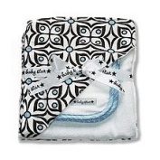 Baby Star Hooded Towel Set in Flutter Blue