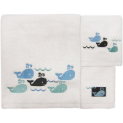 Allure Home Creation Whale Watch 3-Piece Towel Set