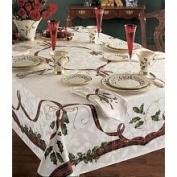 Lenox Holiday Nouveau Table Linens - 152.4cm x 304.8cm Oblong Tablecloth