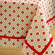 Tag 201412 Chalet Diamond Rectangular Tablecloth