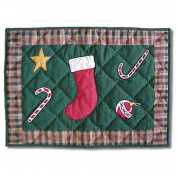 Patch Magic pmsbfs Santa by The Fireside Place Mat 19x13